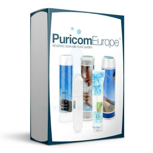 Zestaw Green Filter do odwróconej osmozy Puricom Stella RO 6