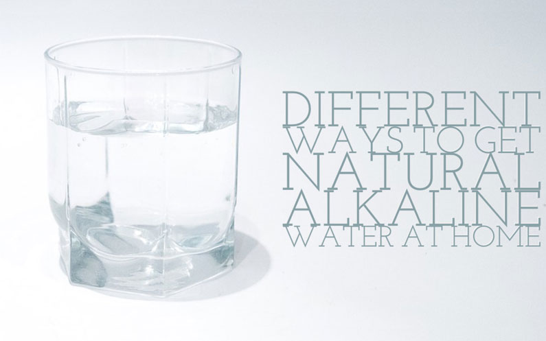 Jak uzyskać wodę alkaliczną?