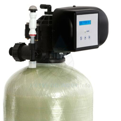 Wyświetlacz odżelaziacza wody Erie Oxydizer PRO 84