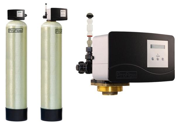 Przemysłowe odżelaziacze wody Erie ProFlow OXY Plus