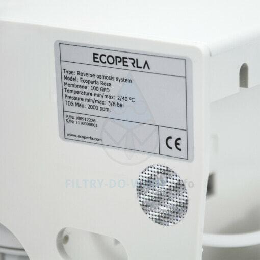 Certyfikat odwróconej osmozy Ecoperla Rosa