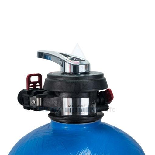 Głowica kolumny filtracyjnej Ecoperla Sedimentower M