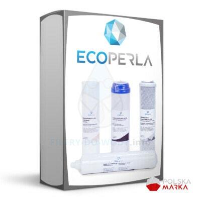 Roczny zestaw wkładów do odwróconej osmozy Ecoperla Rosa