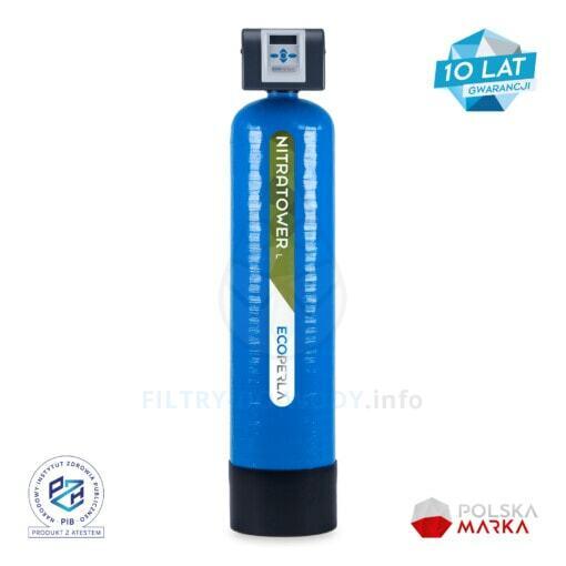 Stacja do usuwania azotanów Ecoperla Nitratower L