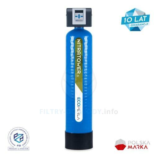Stacja do usuwania azotanów Ecoperla Nitratower S