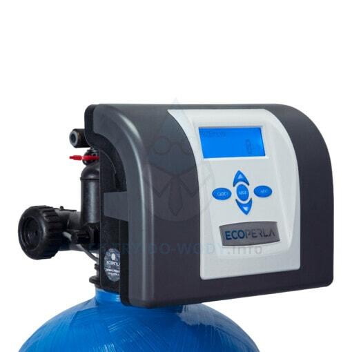 Głowica zmiękczacza wody Ecoperla Softower L od przodu