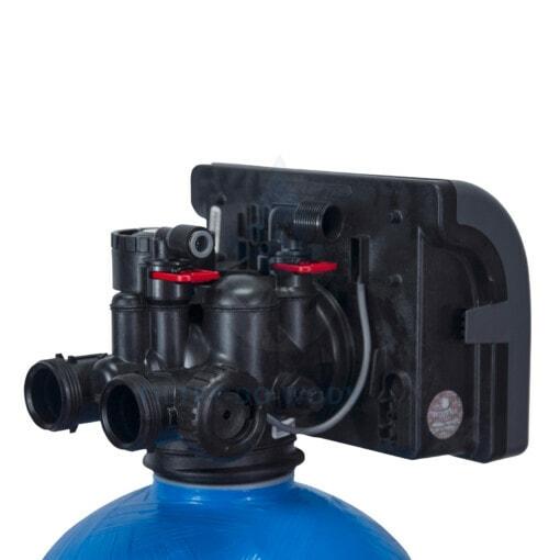 Głowica zmiękczacza wody Ecoperla Softower L od tyłu