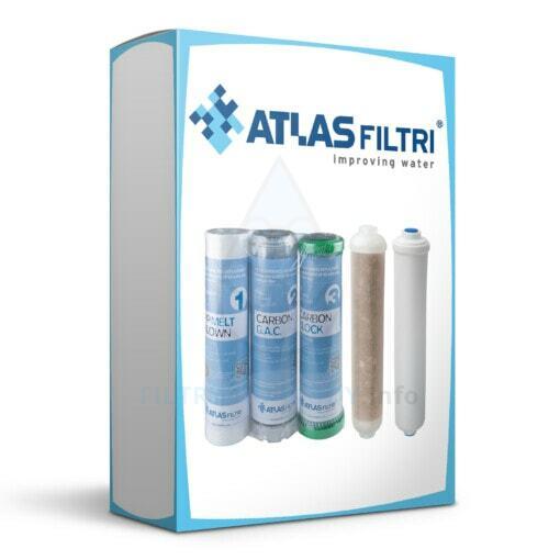 Roczny zestaw wkładów do Atlas Filtri OASIS DP