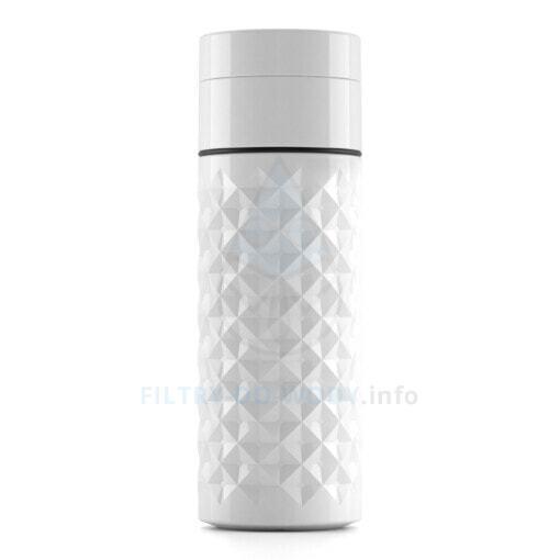 Butelka z trzciny cukrowej Ecoperla Ecobott od tyłu