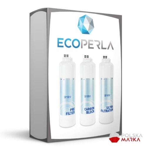 Roczny zestaw wkładów do filtra Ecoperla Slimline POU