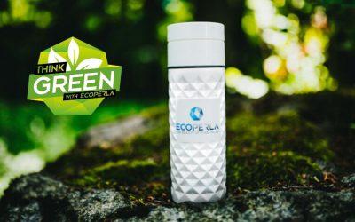Recenzja butelki z trzciny cukrowej Ecoperla Ecobott